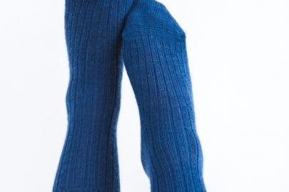 Chaussette de Ville Bleu